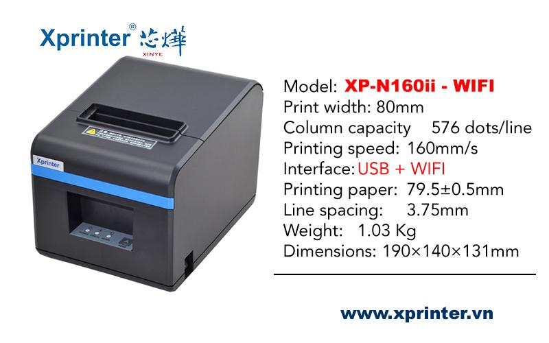 may-in-hoa-don-80mm-wifi-xprinter-xp-n160ii